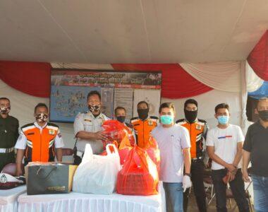 Alumni SMANSA Bogor Kembali Berbagi Takjil dengan Para Petugas PSBB