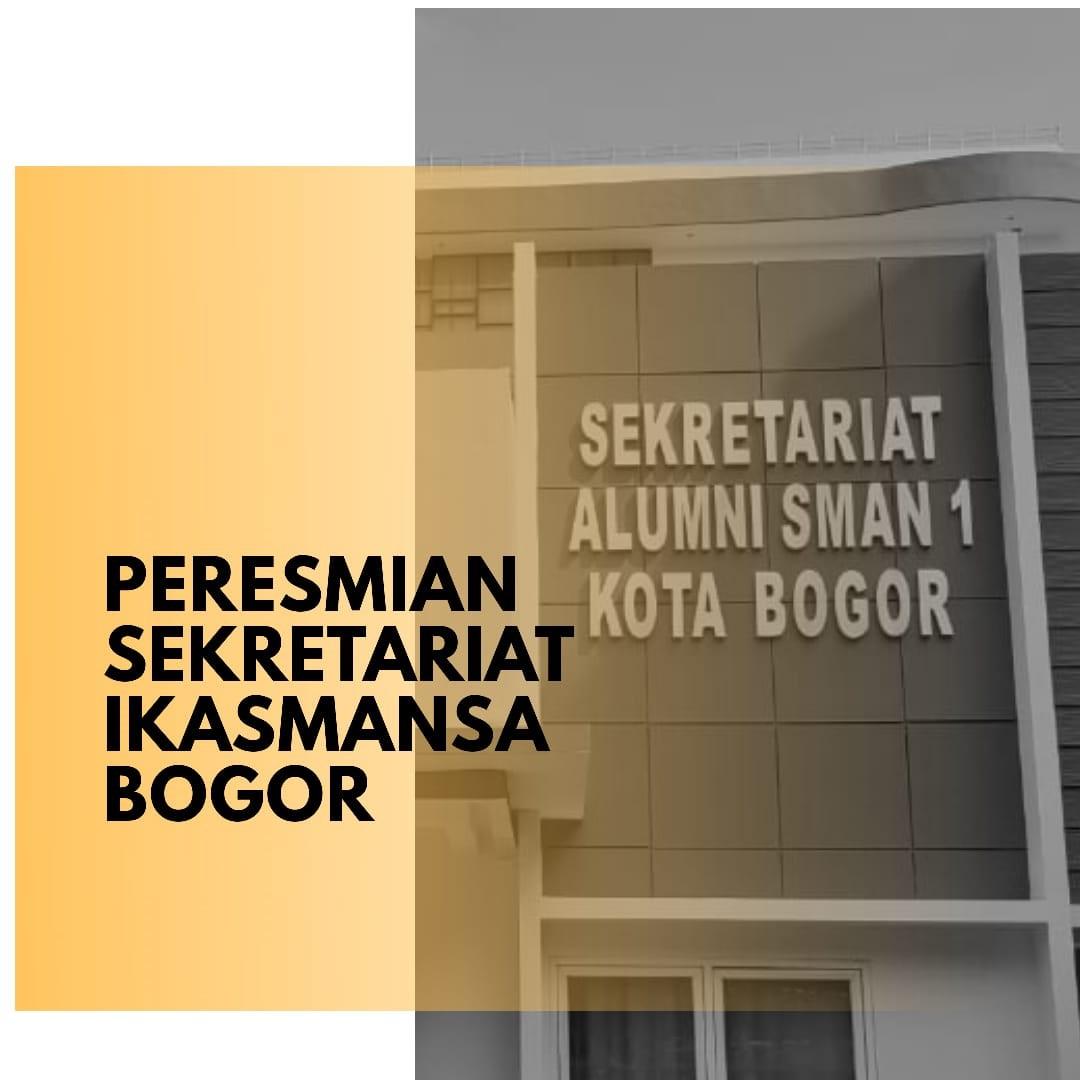 Peresmian Kantor Sekretariat IKASMANSA Bogor